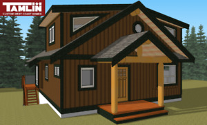 """SAVE,SAVE!!""""The Horne Lake"""" 1125 sq. ft. Log Post & Beam Special"""