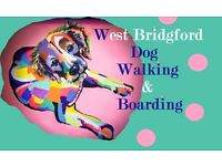 West Bridgford Dog Walkers - Experienced- VERY competitive prices- Insured - CRB Checked