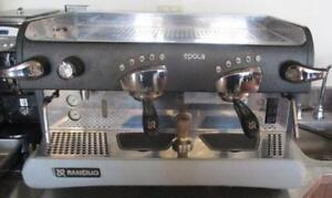 Rancilio Espresso machine with extra coffee machine
