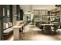 Kitchen staff for BUSY Chelsea cafe
