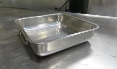 Stainless Steel 2 Handle Heavy Duty Pan 10x10x2.5 Food Chafer Catering
