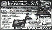 LES TOITURES IMPERMEMBRANES S.O.S