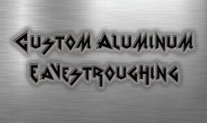 Custom Aluminum  Eavestroughing, GOT HAIL? Call custom ! Moose Jaw Regina Area image 7