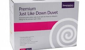 King Size Duvet - Premium Just Like Down Duvet - 13.5 tog