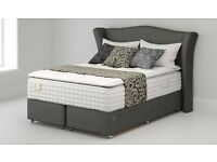 "Double - 4'6"" - Bensons' Heirloom Divan Bed Set"