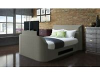 Bensons beds medford King size bed with built in TV and bedside cabinets