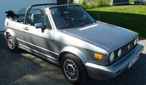 VW Golf Cabrio 1988