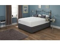 Brand new double divan bed