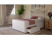 Divan bed kingsize . plus headboard