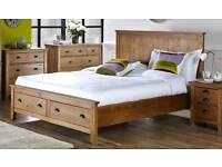 Wild coast double wooden bed frame BRAND NEW