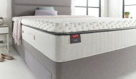 Slumberland King Size Calm Pillow Top Mattress