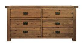 Toulouse 6 drawer set