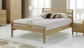 Benson for beds solid oak bed six months old !!