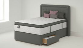 King size Singapore Divan two drawer (still in packaging) brand new, CAN DELIVER