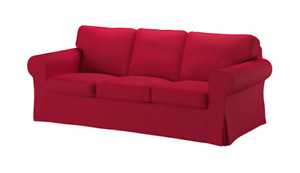LIKE NEW - IKEA EKTORP Sofa Cover Slipcover in RED