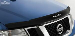 Nissan D40 Navara GENUINE Bonnet Protector (Smoked) Part: NIF5166-5X110AU