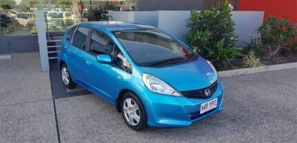 2012 Honda Jazz GE MY12 GLi Blue 5 Speed Automatic Hatchback Mackay Mackay City Preview