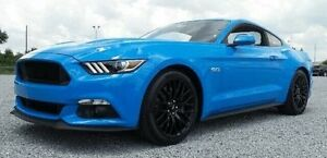 2017 Ford Mustang FM MY17 Fastback GT 5.0 V8 Grabber Blue 6 Speed Automatic Coupe Concord Canada Bay Area Preview