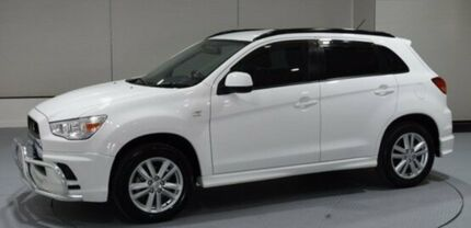 2012 Mitsubishi ASX XA MY12 Activ 2WD White 6 Speed Constant Variable Wagon Invermay Launceston Area Preview