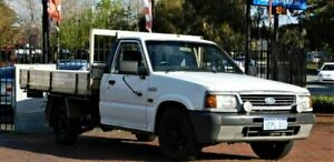 1998 Ford Courier PC Cab Chassis 2dr Man 5sp 2.0 White Manual Cab Chassis Mount Hawthorn Vincent Area Preview