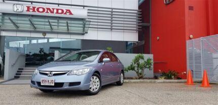 2007 Honda Civic MY07 VTi Silver 5 Speed Automatic Sedan Mackay Mackay City Preview