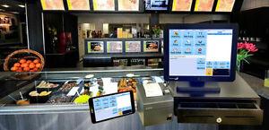 Affordable Cash register for Restaurant/Coffee shop/Pizza