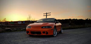 1998 Mitsubishi Eclipse (comes with turbo gear)