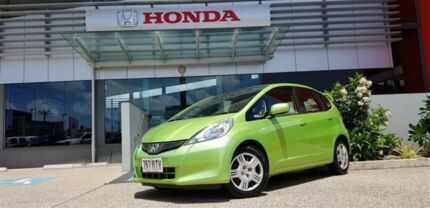 2011 Honda Jazz GE GLi Green 5 Speed Manual Hatchback Mackay Mackay City Preview