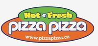 pizza pizza hiring  full time / part Time cook