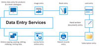 Datasheets Management, Typing Documents, Processing, Data Entry