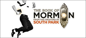 Book Of Mormon - 2 Tickets Sat Sept 17 @ 2PM -
