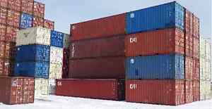 Storage Shipping Containers in Excellent Shape - FOR SALE