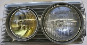 Mercedes 240 300 1975-85 LIGHTING UNIT HEADLIGHT LEFT AND RIGHT
