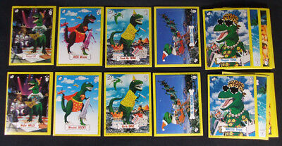 1987 Zoot Wacko-Saurs Design-A-Dino Sticker Set (48) Nm/Mt