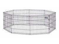 Folding Dog Pen (brass)