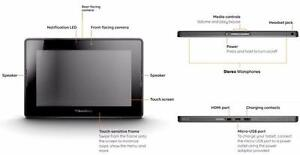 """BlackBerry PlayBook 32GB 7"""" Multi-Touch Tablet PC"""
