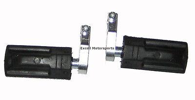 Mini Moto Pocket Bike Crotch Rockets Parts Footpegs Foot pegs 47cc 49cc