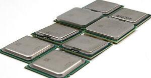 Various CPU's AMD/Intel