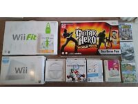 Nintendo Wii Bundle with 9 games and many accessories