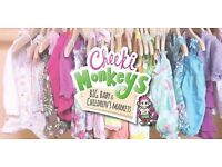 Cheeki monkey pop up market sat 26th February 1-4pm