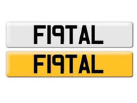 Fatal Number Plate for Sale , C63 , G63 , Mercedes , Golf R32 , GTI , BMW