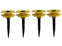 Job Lot 100x sets of 4 Daisy Hose Pipe Guides Lawn Protector Carboot