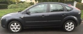 FORD FOCUS 1.6 ZETEC BLACK 2007 LONG MOT £995