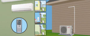 SAVE $$ High Efficiency Ductless AC. Boilers.