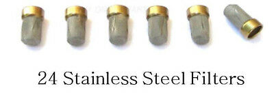 Stainless Steel Fuel Injector Filter Basket Pack of 24, Alcohol fuels, Ethanol ()