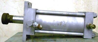 Milwaukee Hydraulic Cylinder 1500psi Bore 6 Stroke 11 2 12 Shaft Dia H31