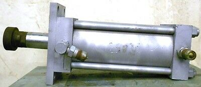 Milwaukee Hydraulic Cylinder 1500psi Bore 6 Stroke 11 2 12 Shaft Dia H31