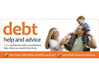 Debt write off! No upfront or hidden fees.
