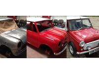 Classic mini wanted for restoration