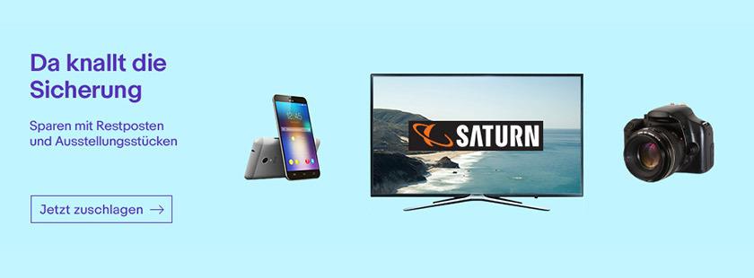 BÄÄÄM! - Angebote! Die Highlights aus der aktuellen Saturn Werbung bei eBay. Jetzt Zuschlagen